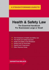 Omslag - Health and Safety Law