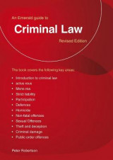 Omslag - A Guide to Criminal Law