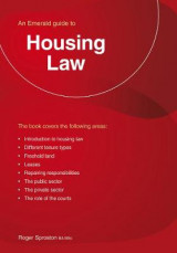 Omslag - Housing Law