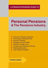 Omslag - Personal Pensions and the Pensions Industry