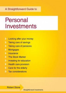 Personal Investments av Robert Stone (Heftet)