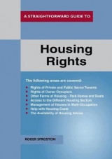 Omslag - A Straightforward Guide To Housing Rights Revised Ed. 2018