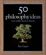 Omslag - 50 philosophy ideas you really should know