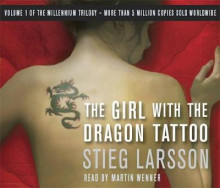 The Girl With the Dragon Tattoo av Stieg Larsson (Lydbok-CD)