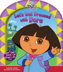 Let's Get Dressed with Dora av Nickelodeon (Pappbok)