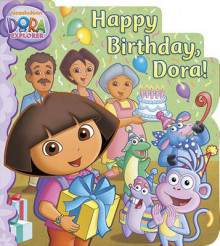 Happy Birthday, Dora! av Nickelodeon (Pappbok)