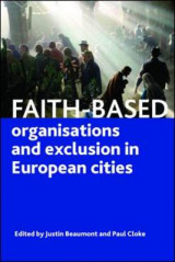 Omslag - Faith-Based Organisations and Exclusion in European Cities