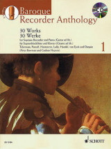 Omslag - Baroque Recorder Anthology, Volume 1
