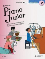 Omslag - Piano Junior: Lesson: A Creative and Interactive Piano Course for Children: Book 2
