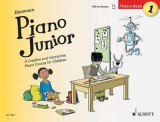 Omslag - Piano Junior: Theory Book 1: A Creative and Interactive Piano Course for Children: Book 1
