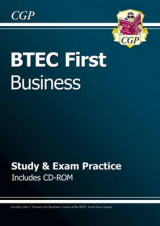 Omslag - BTEC First in Business - Study & Exam Practice with CD-ROM