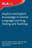 Implicit and Explicit Knowledge in Second Language Learning, Testing and Teaching av Roderick J. Ellis, Shawn Loewen, Catherine Elder, Rosemary Erlam, Jenefer Philp og Hayo Reinders (Heftet)