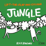 Omslag - Lift-the-Flap and Colour Jungle