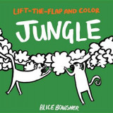 Omslag - Lift-The-Flap and Color: Jungle