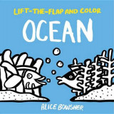 Omslag - Lift-The-Flap and Color: Ocean