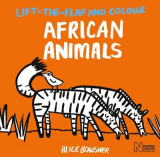 Omslag - Lift-the-Flap and Colour African Animals