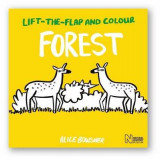 Omslag - Lift-the-Flap and Colour Forest