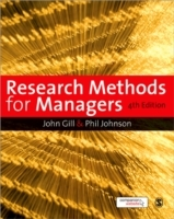 Research Methods for Managers av John Gill og Phil Johnson (Heftet)