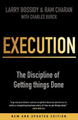 Omslag - Execution - the discipline of getting things done