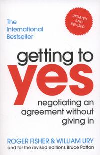 Getting to yes av Roger Fisher og William Ury (Heftet)