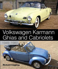 Volkswagen Karmann Ghias and Cabriolets av Richard Copping (Innbundet)