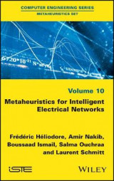 Omslag - Metaheuristics for Intelligent Electrical Networks