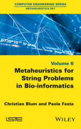 Omslag - Metaheuristics for String Problems in Bio-Informatics