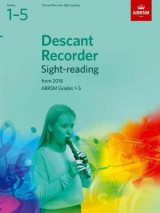 Omslag - Descant Recorder Sight-Reading Tests, ABRSM Grades 1-5
