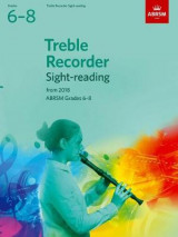 Omslag - Treble Recorder Sight-Reading Tests, ABRSM Grades 6-8