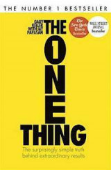 Omslag - The One Thing