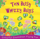 Omslag - Ten Busy Whizzy Bugs