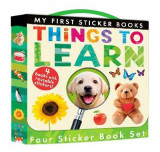 Omslag - My First Sticker Books: Things to Learn