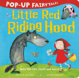Omslag - Pop-Up Fairytales: Little Red Riding Hood