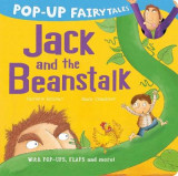 Omslag - Pop-Up Fairytales: Jack and the Beanstalk