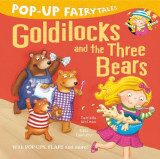Omslag - Pop-Up Fairytales: Goldilocks and the Three Bears