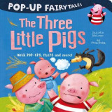 Omslag - Pop-Up Fairytales: The Three Little Pigs
