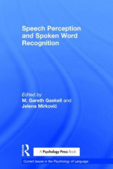 Omslag - Speech Perception and Spoken Word Recognition