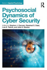 Omslag - Psychosocial Dynamics of Cyber Security