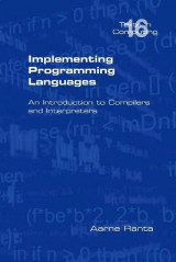 Omslag - Implementing Programming Languages. An Introduction to Compilers and Interpreters