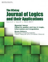 Omslag - Ifcolog Journal of Logics and Their Applications. Hilbert's Epsilon and Tau in Logic, Informatics and Linguistics