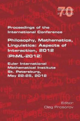 Omslag - Proceedings of the International Conference Philosophy, Mathematics, Linguistics