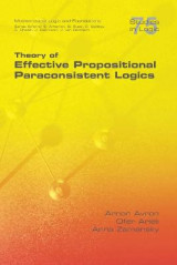 Omslag - Theory of Effective Propositional Paraconsistent Logics