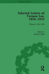 Omslag - Selected Letters of Vernon Lee, 1856-1935: 1865-1884 Volume 1