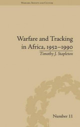 Omslag - Warfare and Tracking in Africa, 1952-1990