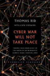 Omslag - Cyber War Will Not Take Place