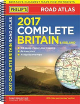 Omslag - Philip's Complete Road Atlas Britain and Ireland 2017