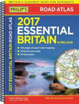 Omslag - Philip's Essential Road Atlas Britain and Ireland 2017