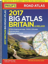 Omslag - Philip's Big Road Atlas Britain and Ireland 2017