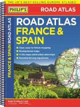 Omslag - Philip's France and Spain Road Atlas