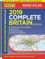 Omslag - Philip's 2019 Complete Road Atlas Britain and Ireland - Spiral